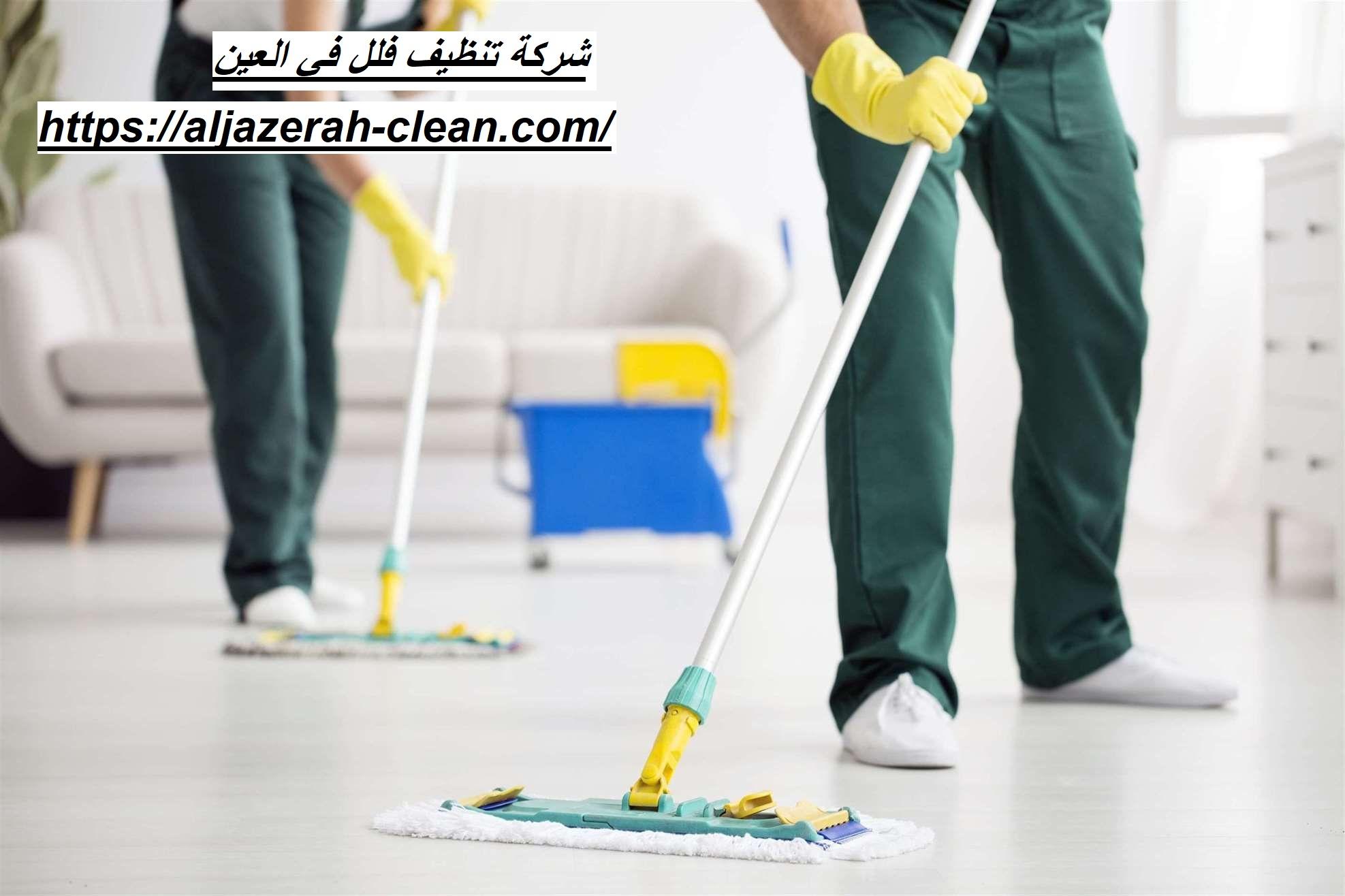 شركة تنظيف فلل في العين