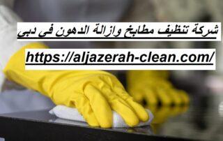 شركة تنظيف مطابخ وازالة الدهون في دبي